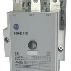 Allen Bradley 100 D140 Contactor Wiring Diagram 93 Chevy Silverado D115 3 Pole 115 Amp Iec With An Ac