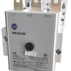 Allen Bradley 100 D140 Contactor Wiring Diagram Sony 52wx4 3 Pole 140 Amp Iec With An Ac