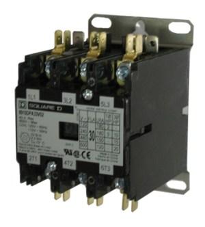 Square D 8910DPA33V09 30 AMP 3pole Definite Purpose