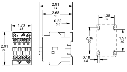 single phase disconnect wiring diagram