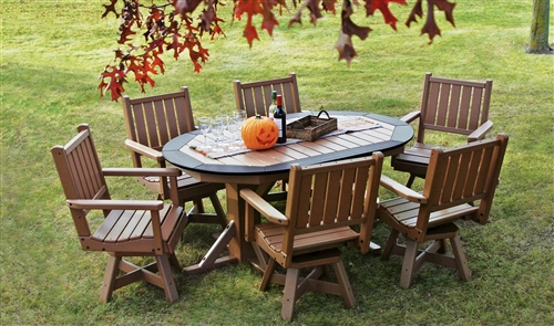 cheap plastic outdoor chairs all weather wicker freedom furniture recycled dining tables modern poly lumber sets