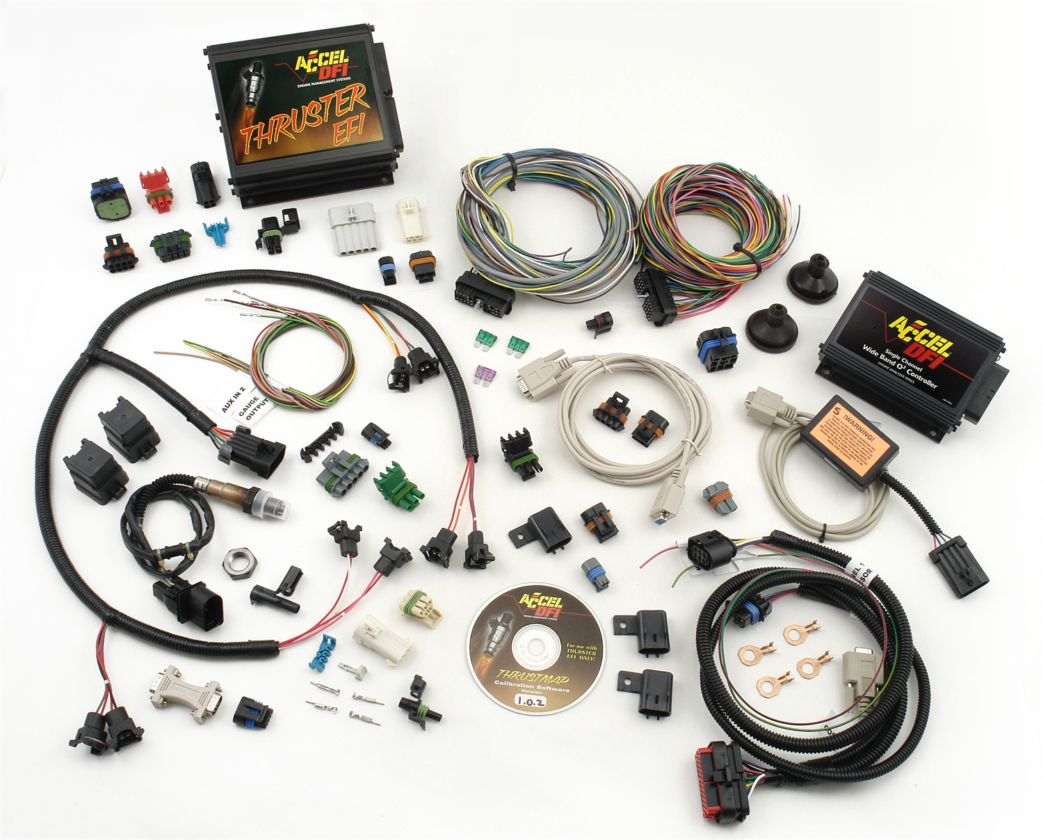 hight resolution of accel fuel injection systems