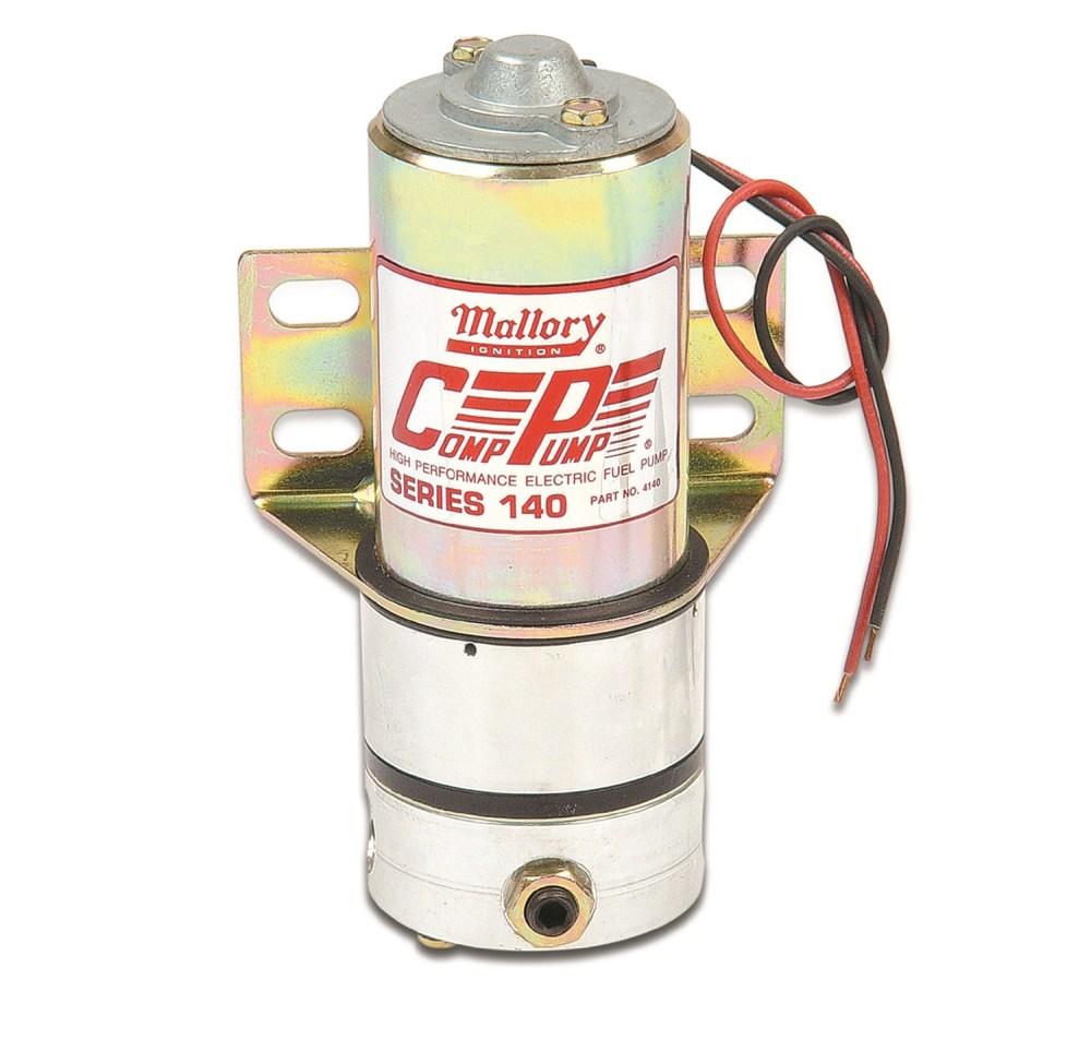 medium resolution of mallory electric fuel pumps