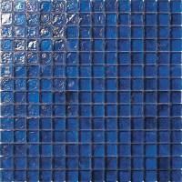 3/4 X 3/4 Glass Tile Mosaic - GC005 Rippled Glass Dark ...