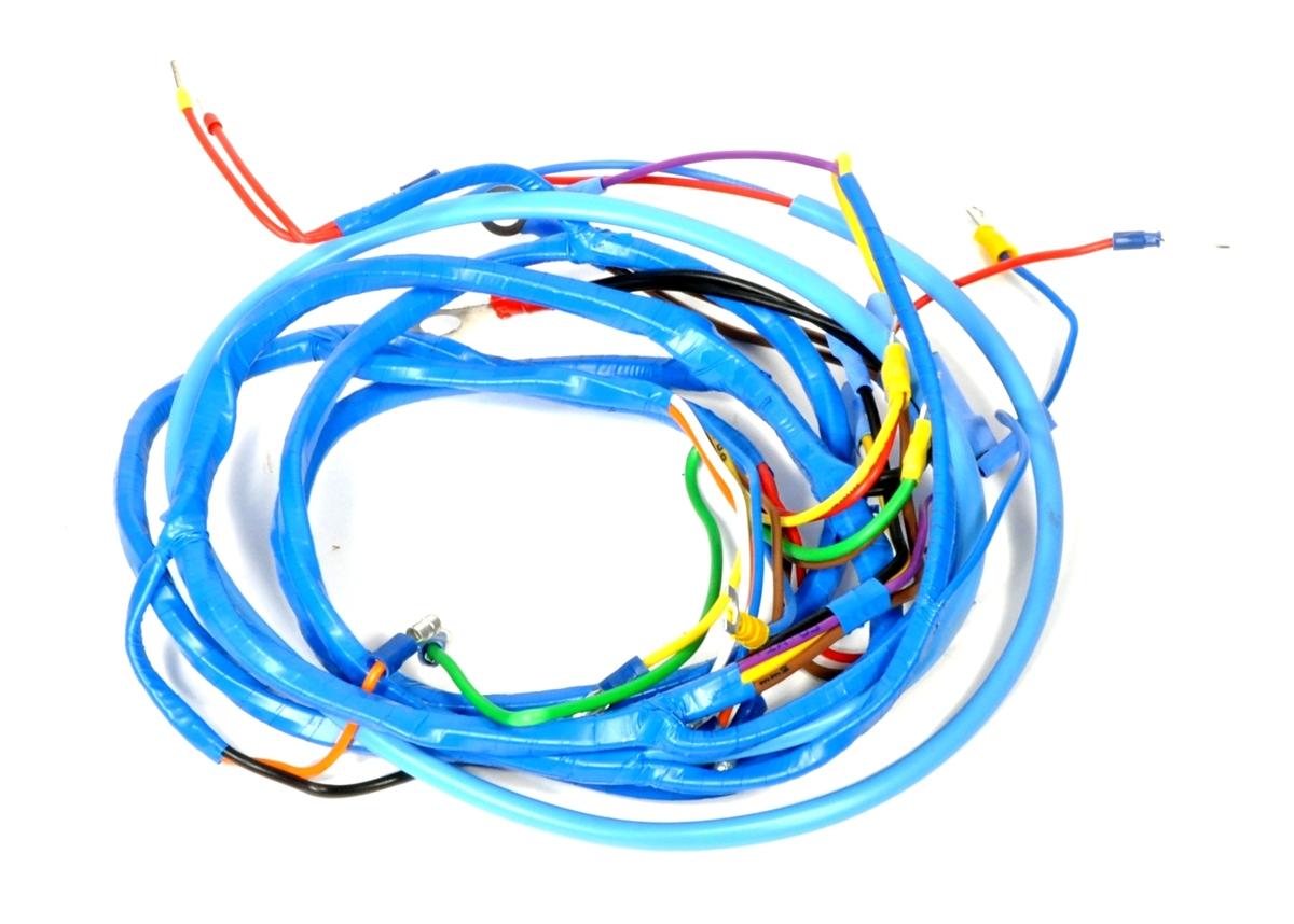 fordson major solenoid wiring diagram emg 81 85 solder series loom harness