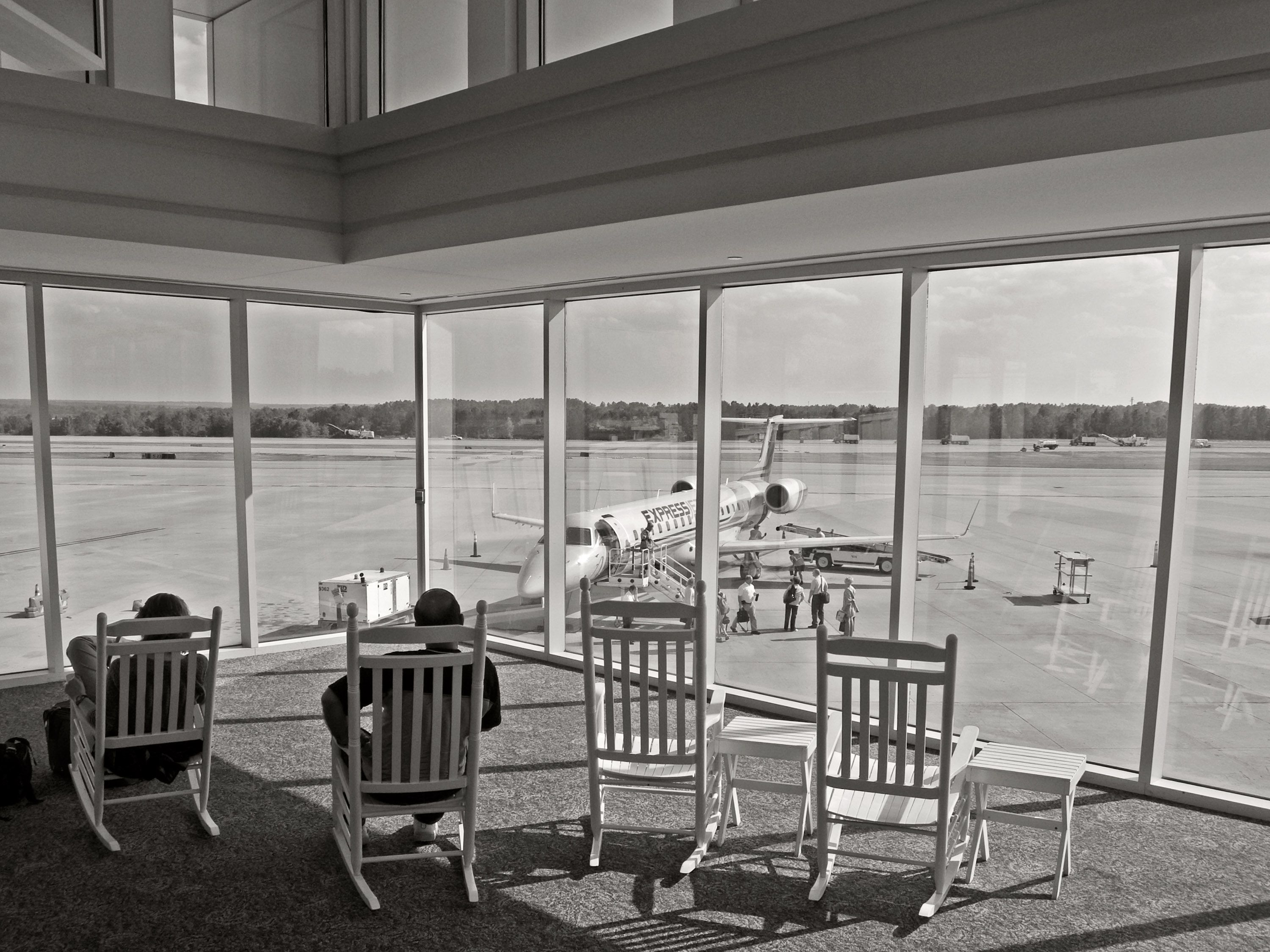 troutman chair company sure fit club slipcovers here 39s why so many airports have rocking chairs the verge