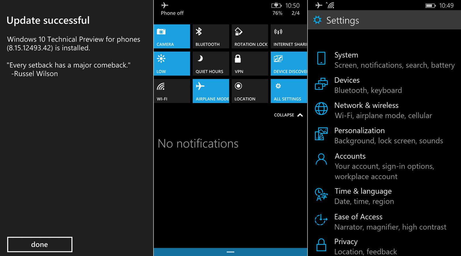 3d Touch Wallpaper Maker Leaked Screenshots Reveal More Windows 10 Phone Features