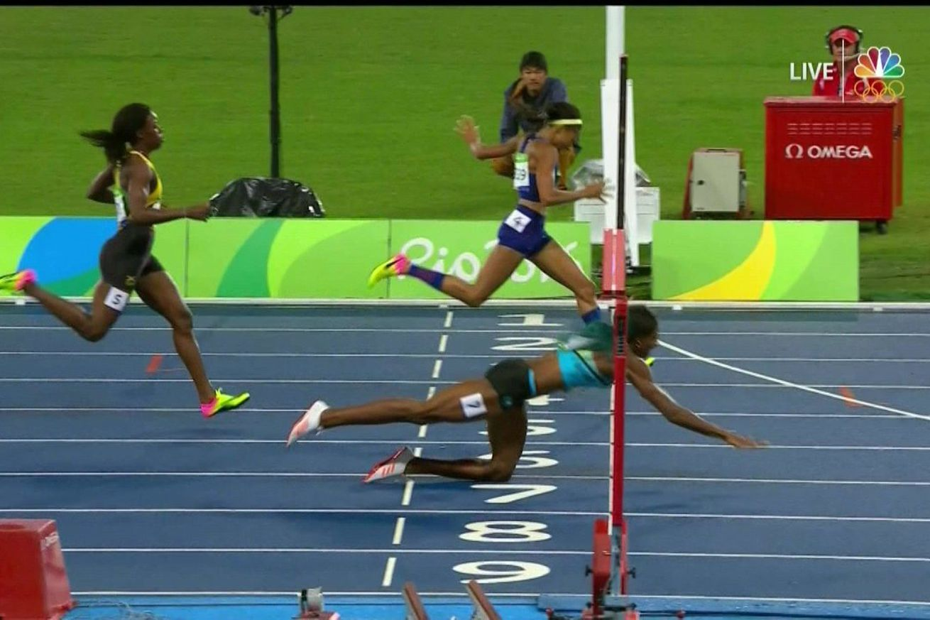 How Shaunae Miller Beat Allyson Felix With A Perfectly Legal Dive Across The Finish Line