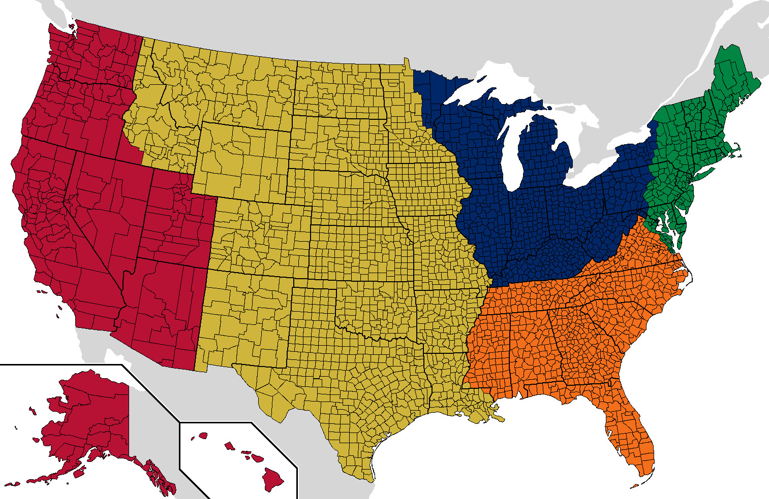 America Is Too Big Here S How To Split It Into Five Uk
