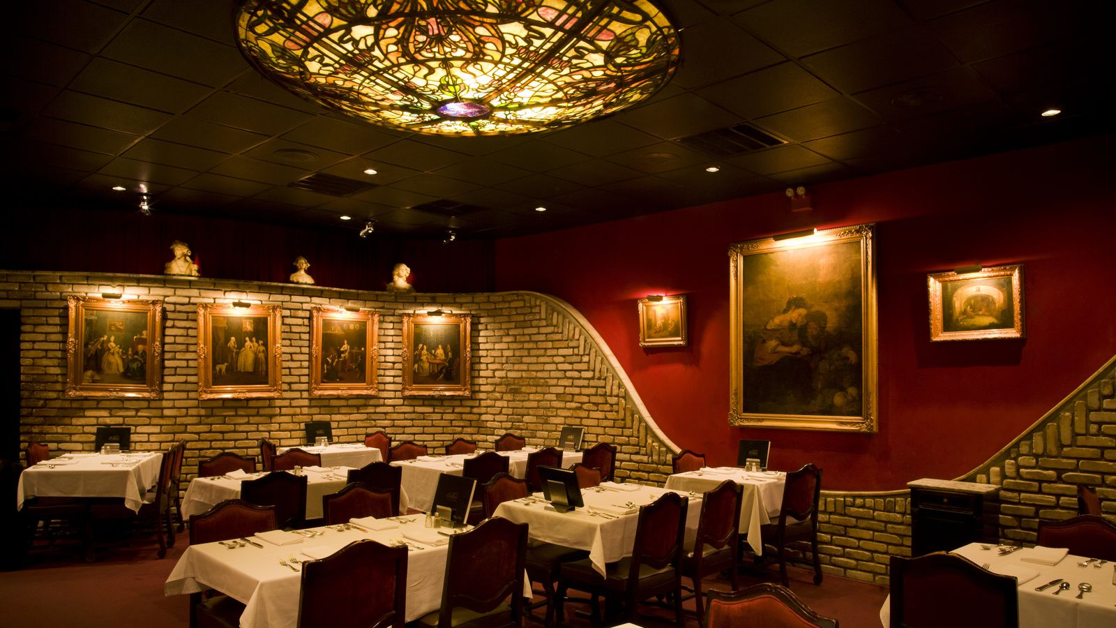For Retro Decadence Berns Steak House in Tampa Still