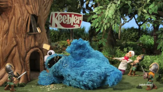 cookie monster vs the