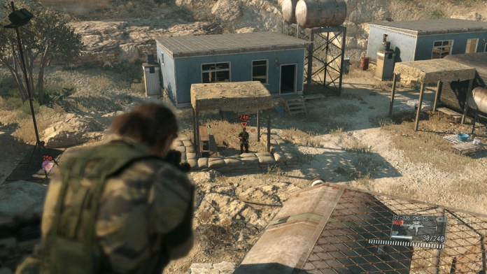 PC Game Open World Metal Gear Solid 5: The Phantom Pain