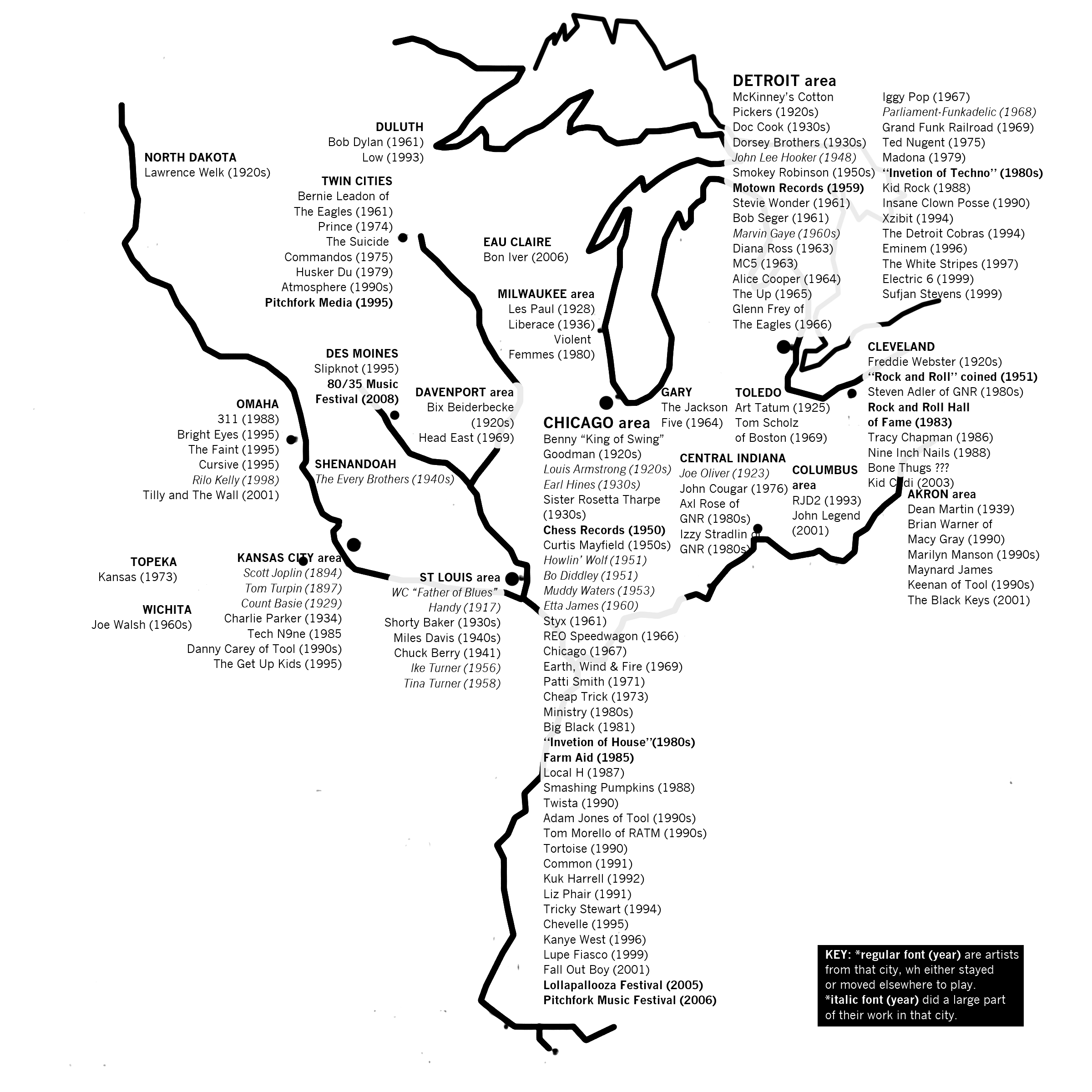 41 Maps And Charts That Explain The Midwest
