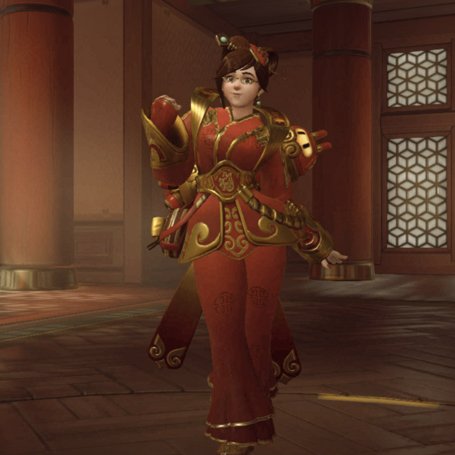 Overwatchs Year Of The Rooster Event Introduced A Weird