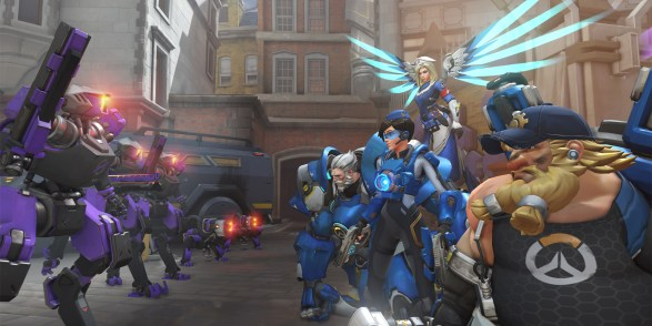 Image result for overwatch uprising