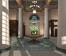Miami Historic Biltmore Hotel Undergo Lobby