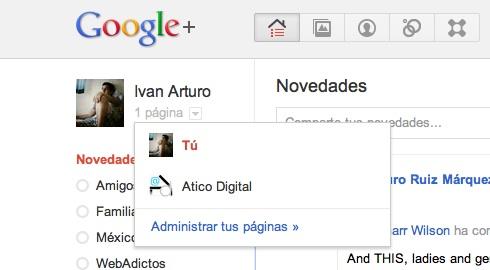 administrar paginas Cómo hacer una página en Google+