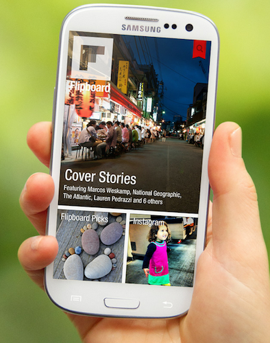 Captura de pantalla 2012 06 22 a las 08.44.31 Flipboard llega oficialmente a Android e incorpora Google+ y YouTube