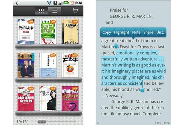 Go book android Apps para leer libros en tu smartphone