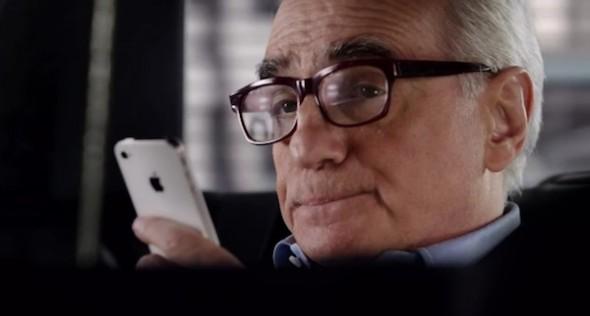 Comercial Siri martin Scorsese 590x316