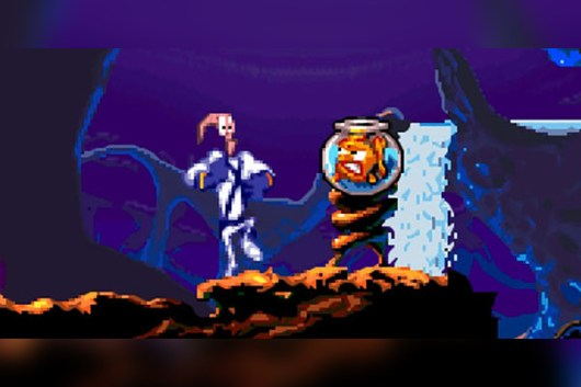 Image result for earthworm jim fish