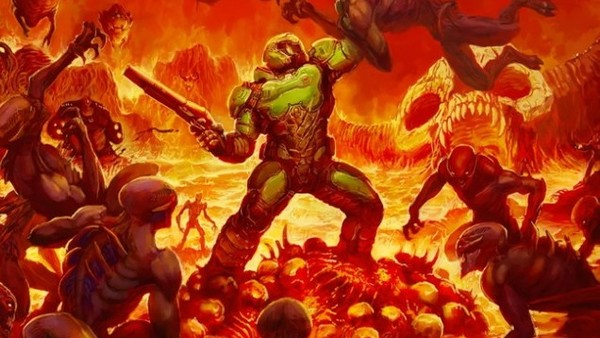 you can play doom