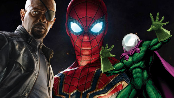 Infinity Sign Wallpaper Hd Spider Man Far From Home Actor Confirms Mysterio Amp Nick Fury