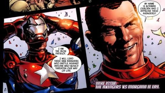 Image result for norman osborn iron patriot