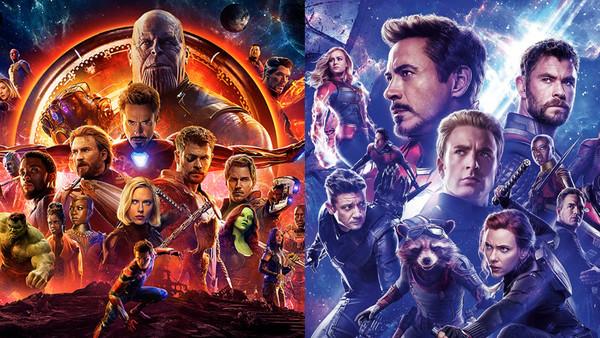 avengers infinity war vs
