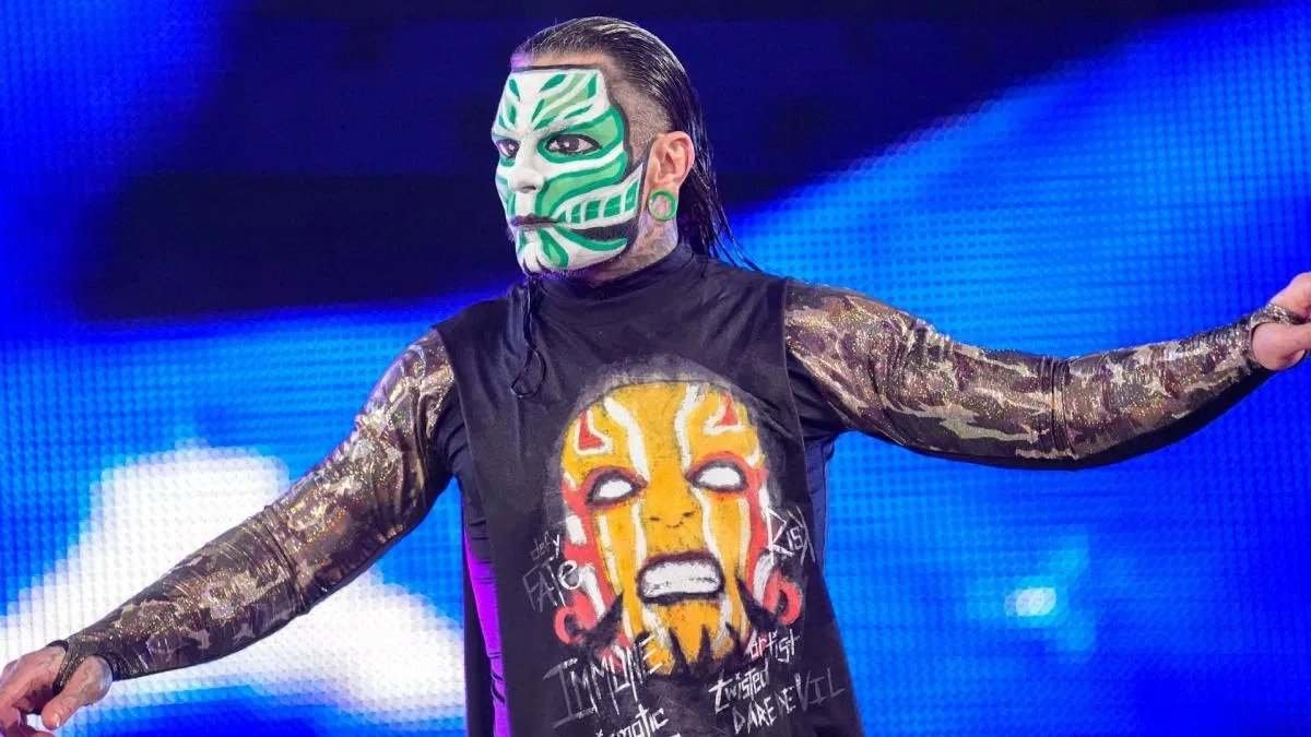 Jeff Hardy Officially Enters WWE Royal Rumble 2021