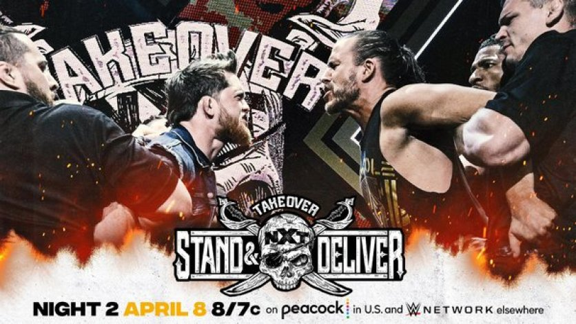 Updated TakeOver: Stand & Deliver Card After Last Night's WWE NXT