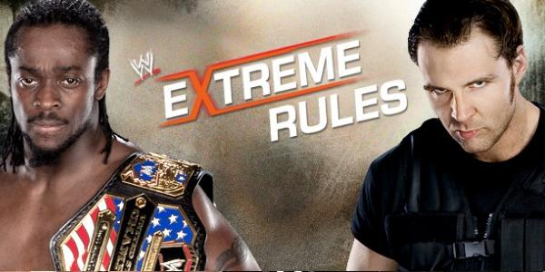Extreme Rules 2013 Kofi Kingston Vs Dean Ambrose