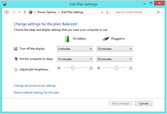 Windows 8 Sleep - Панель управления - Sleep 2 - WindowsWally