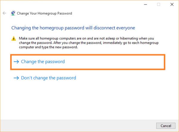 Домашняя группа - Windows 10 - Изменить пароль домашней группы - 2 - FreePowerPointTemplates