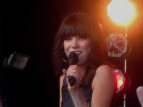 Carly Rae Jepsen at Red River Ex, 2012