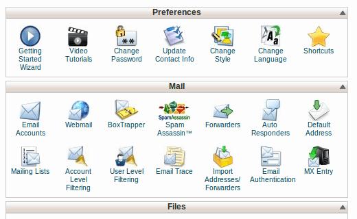 cpanel WordPress web hosting management software