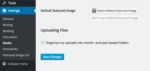 Default Featured Image