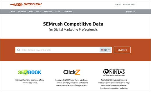 2018 top wordpress plugins SEMrush