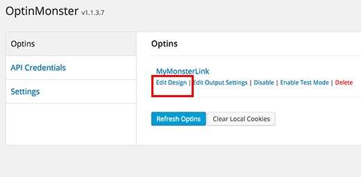 Relaunch optin designer to configure content upgrade delivery