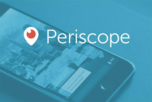 Show your Periscope on air status on your WordPress website