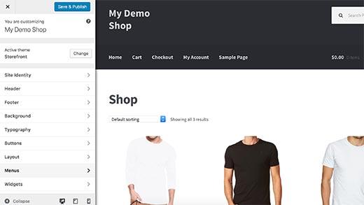 Customizing your theme