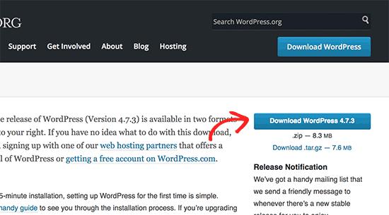 Download WordPress
