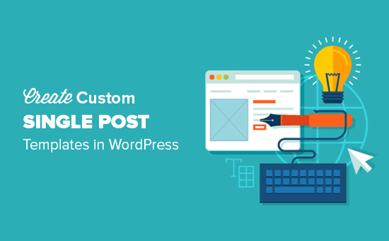 How to create custom single post template in WordPress