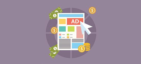 Tampilkan iklan di blog makanan Anda