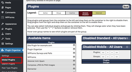 Global Plugins