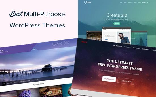 Best WordPress multi-purpose themes