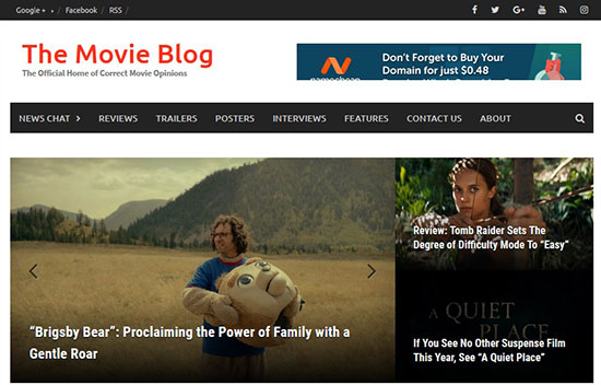 Movie Blogs
