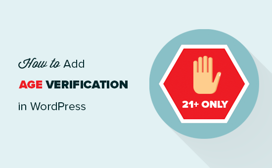Adding age verification to a WordPress website