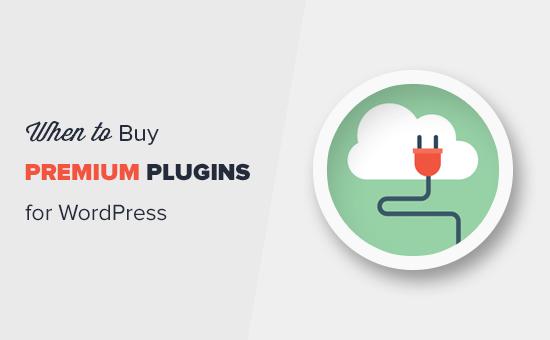 When is it worth buying premium WordPress plugins