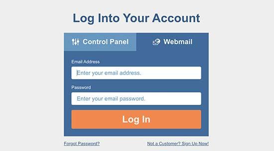 Login email web HostGator